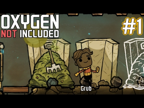 Oxygen Not Included | Part 1 | Humble Beginnings | Gameplay