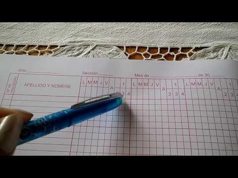 MG Registro de asistencia y calificación de alumnos/as
