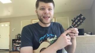 weekly ukulele chord am7