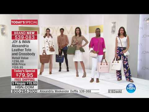 HSN | Joy & IMAN: Fashionably Functional 04.29.2017 - 12 AM