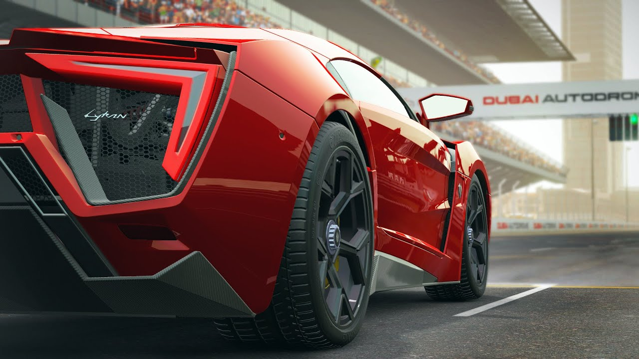 Project Cars Lykan Hypersport Trailer Fast Furious Car