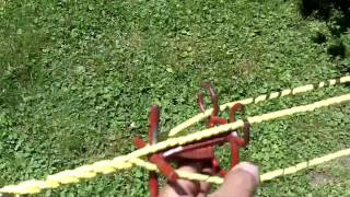 Making a Caution Rope 3