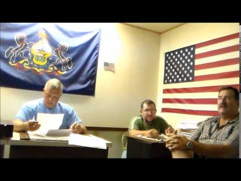 KIMMEL TOWNSHIP MONTHLY MEETING JULY 2014