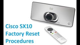 Download Cisco Sx20 Factory Reset Procedures MP3, MKV, MP4