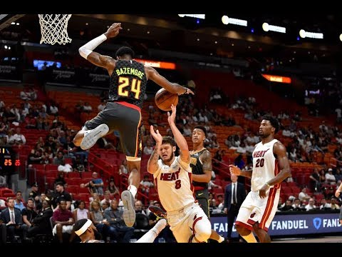 Atlanta Hawks Highlights Vs. Heat 2017 | NBA Preseason 2017 | Game 1/5 | 10.1.17