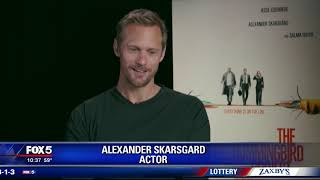 Alexander Skarsgard stars in 'The Hummingbird Project'
