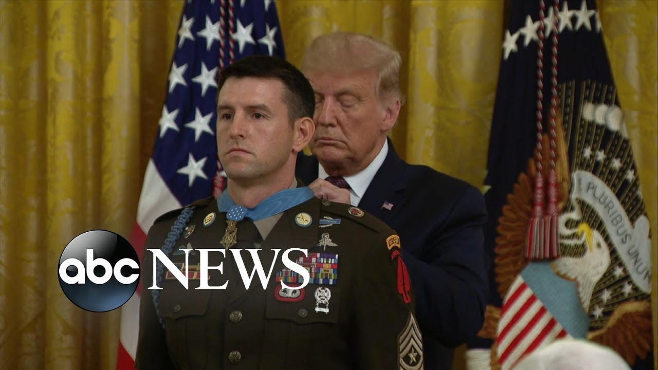 Delta Force soldier receives Medal of Honor