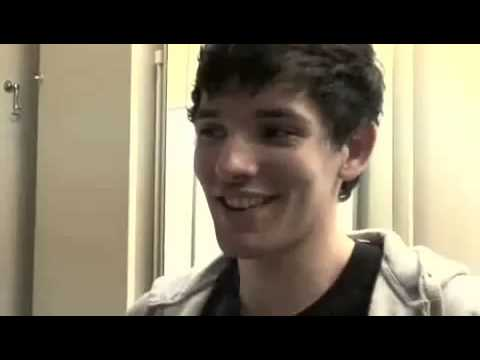 Colin Morgan Behind The Scenes in play All about my Mother