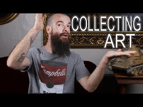 Collecting Art. Cesar Santos vlog 023