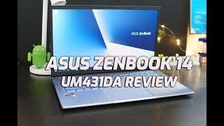 ASUS Zenbook 14 UM431DA Review