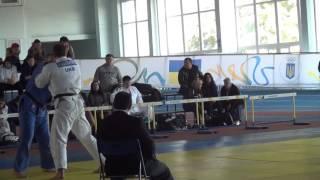 Гордиенко Александр . Чемпионат Украины по дзюдо 2015.  +100 кг. 9 октября 2015.