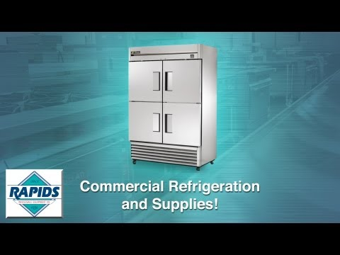Commercial Refrigeration And Supplies From RapidsWholesale.com