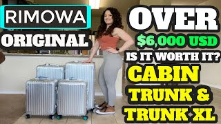 RIMOWA Original Luggage! Is It Worth $6,000 ? Full Details and Review! Plus the TRUNK XL!
