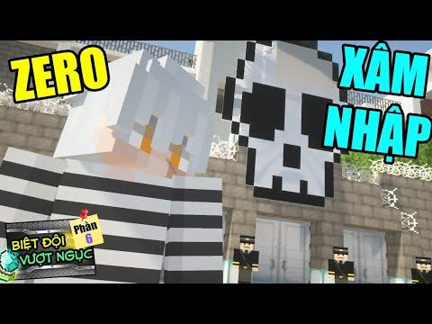 Minecraft Biệt Đội Vượt Ngục (Phần 6) #3- ZERO ĐỘT NHẬP NHÀ TÙ - THỬ THÁCH JAKI ? 👮 vs 😨