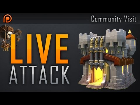 TH11 LIVE WAR ATTACK - OH GOD...