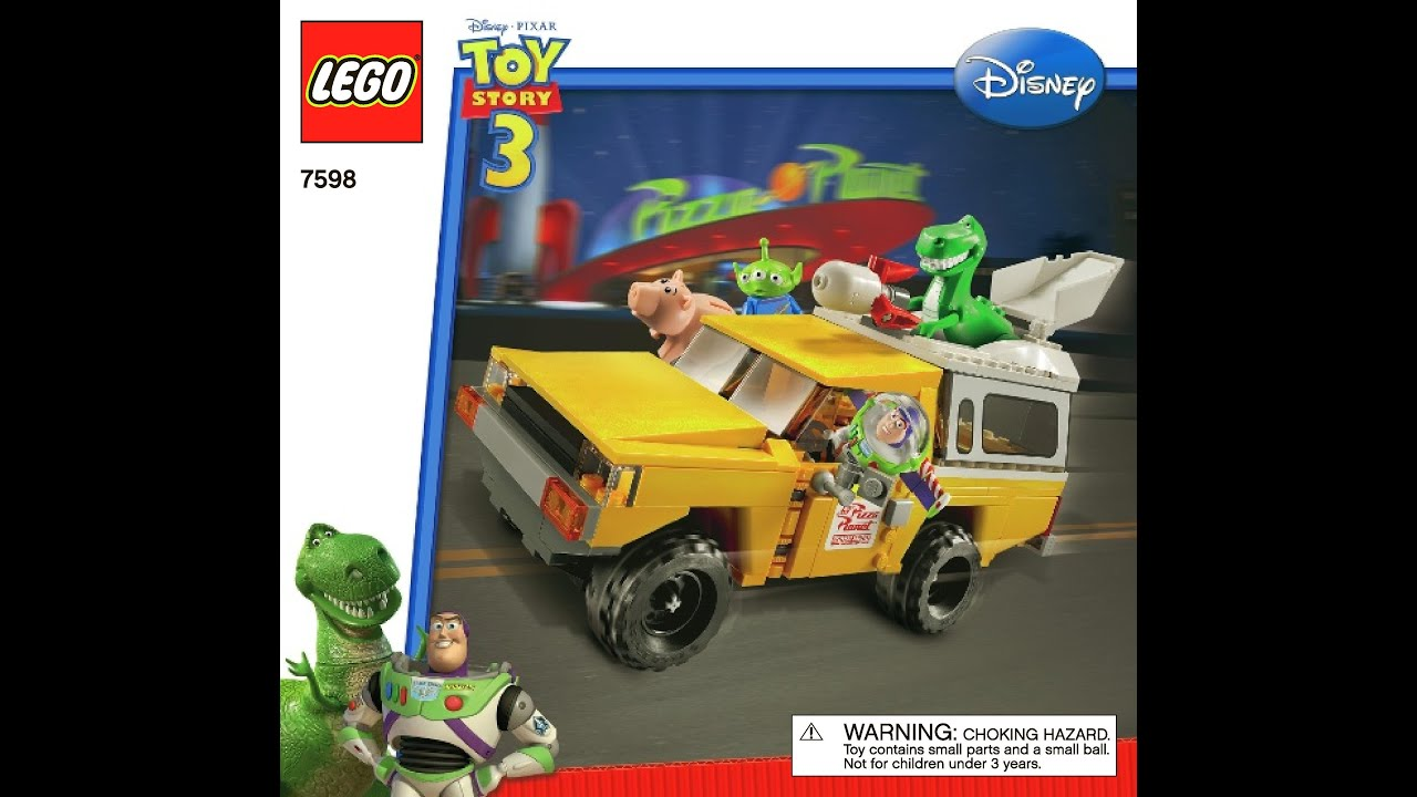 Lego Toy 3 : Lego toy story pizza planet truck rescue
