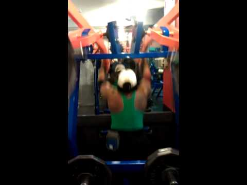 Betty Moore age 54 Back Training