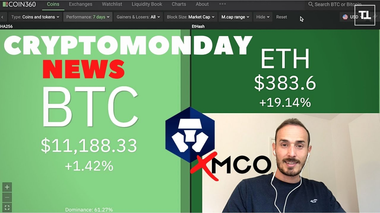 Ethereum in Hype. Crypto.com RIMUOVE gli MCO - CryptoMonday NEWS w31/'20