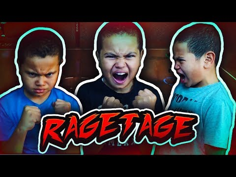 9 YEAR OLD BROTHER RAGETAGE!!! - FUNNY MOMENTS AND RAGING 😂😡 - (MUST WATCH) NBA 2K18 100K SPECIAL!