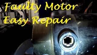 Mobility scooter Motor repair Part 1