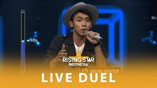 """Alif Rizky """"Somewhere Only We Know""""   Live Duel 2   Rising Star Indonesia 2016"""