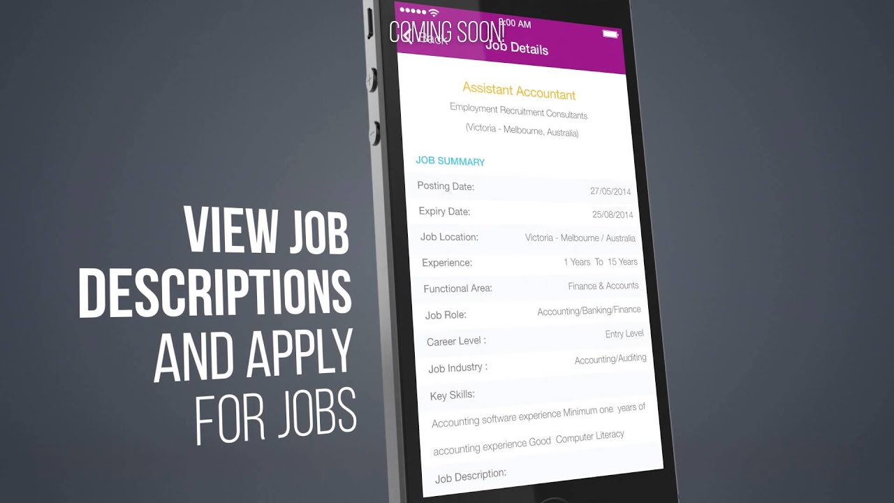 job search engine app for iphone android review
