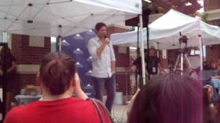 Peter Facinelli at ShadowLake in Omaha