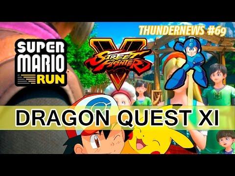 Super Mario Run, Mega Man, Navidad en SF V, Dragon Quest XI, película Pokémon y más - #ThunderNews