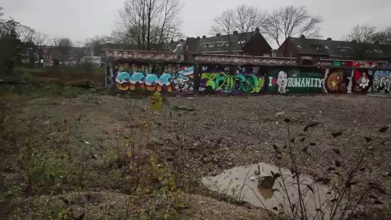 Graffiti wall utrecht - Graffiti Grindbak Utrecht November 2015 Part 1