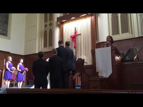 Sarah singing The Prayer (Celtic Woman version)