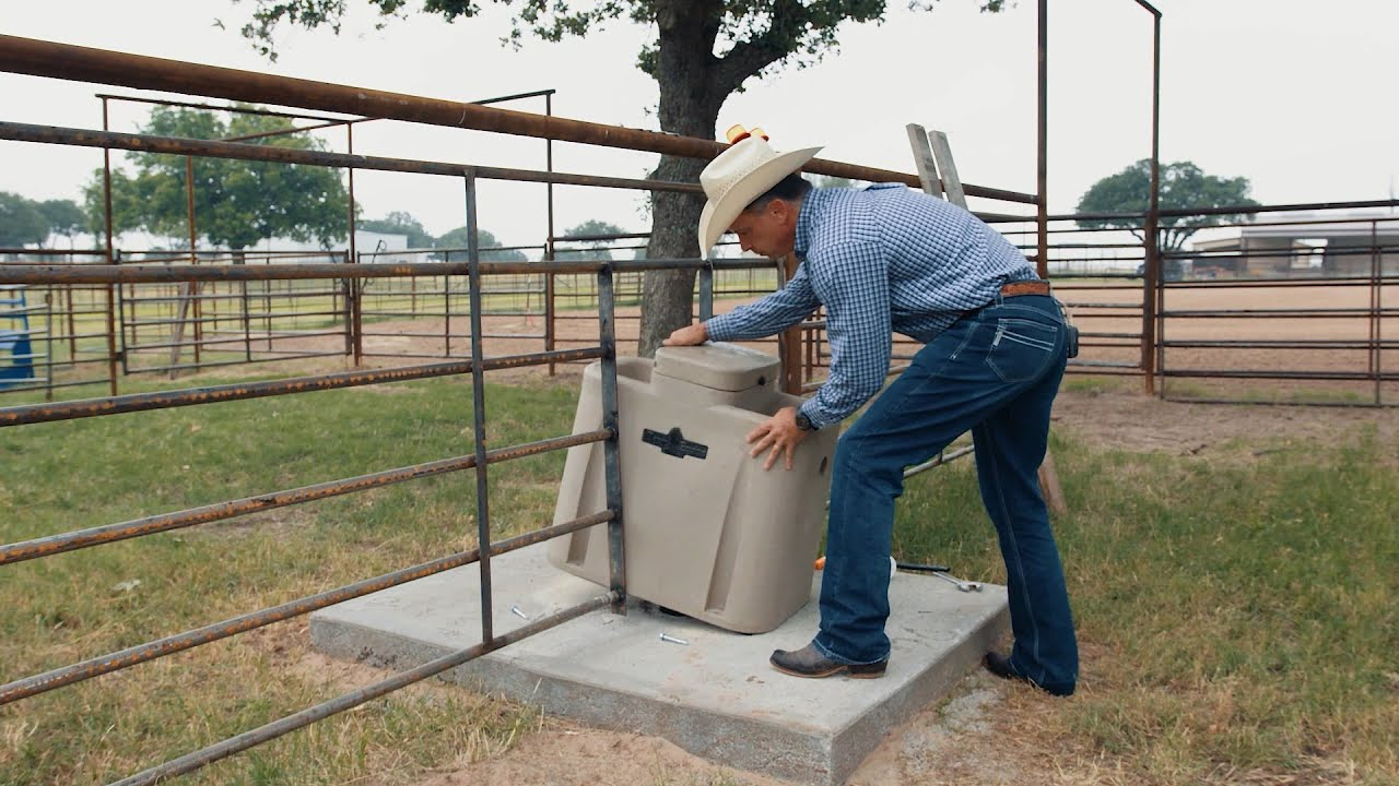 Automatic Watering for all Livestock