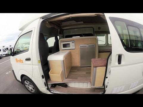 예산에 맞춘 캠핑카 렌트 추천 - Britz Voyager Motorhome Hire - 뉴질랜드 캠핑카 여행