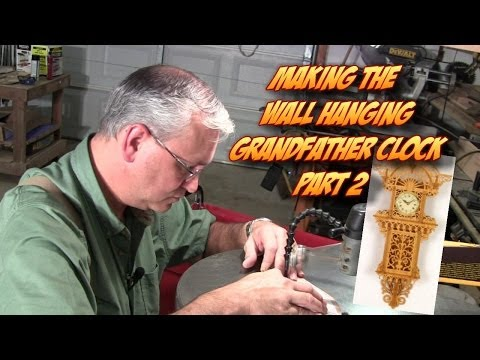 scrolling-the-wall-hanging-grandfather-clock-pt.-2-advanced-scroll-saw-fretwork-project