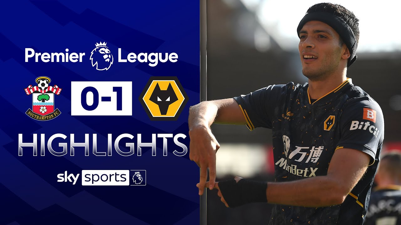 Jimenez's first comeback goal earns Wolves win!   Southampton 0-1 Wolves    EPL Highlights
