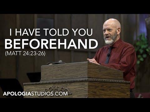Sermon On God's Sovereignty (James White)