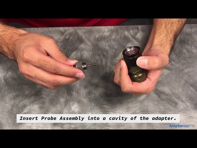 Amphenol FSI Captivator Pull Out Tool - Instruction Video