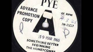 The Honeycombs - Something better Beginning  45rpm  1965
