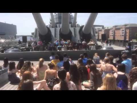 Concert on the Battleship Wisconsin