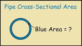 Pipe Cross Sectional Area