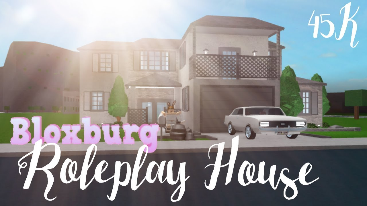 Bloxburg: Roleplay House 45K