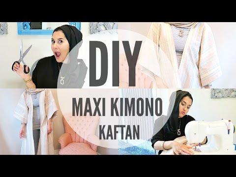 DIY | MAXI KIMONO KAFTAN / ABBAYA FOR BEGINNERS