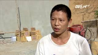 VTC14 | Hàng chục tấn chất thải công nghiệp nguy hại nghi bị đổ trộm