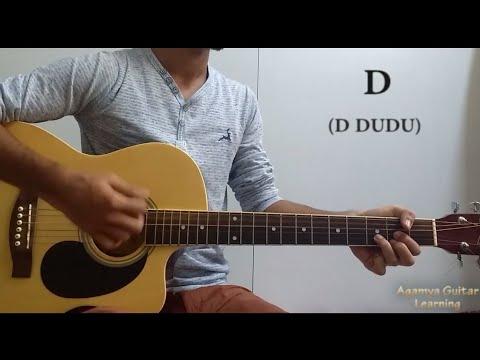 kaise-hua-(kabir-singh)---guitar-chords-lesson+cover,-strumming-pattern,-progressions