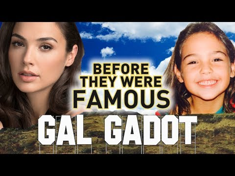 Thumbnail: GAL GADOT - Before They Were Famous - Wonder Woman