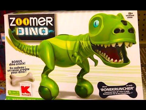 Zoomer Dino Bonekruncher With Bonus Dino Snack Dino Robot Toy