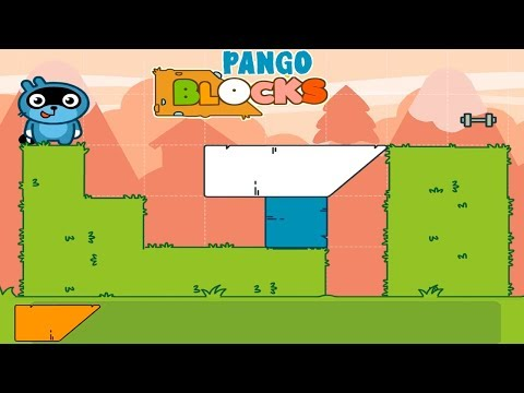 Pango Blocks Game Review #5 - Great Puzzles For Kids.