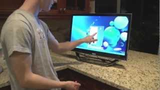 "Samsung Windows 8 Touch Screen All in One 27"" DP700 7 Series Unboxing Linus Tech Tips"