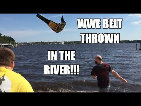WWE BELT THROWN IN THE RIVER! Grims CAR STOLEN by MJ APPLEBALLS