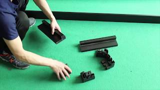 How to install DIY P10 led display sign board  installation procedures