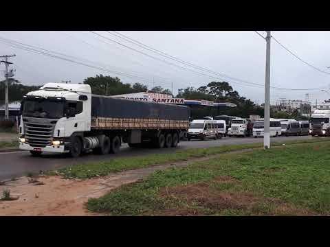 TOPIQUEIROS FAZEM PROTESTO NA REGIÃO NORTE - PARTE 2